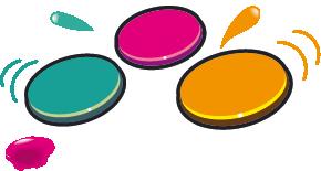 10 pastilles de peinture à l'eau